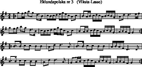 eklundapolska+nr+3+++(viksta-lasse)-polska from genre scandi